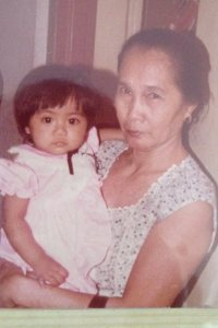 me as a baby with my grandma :-)